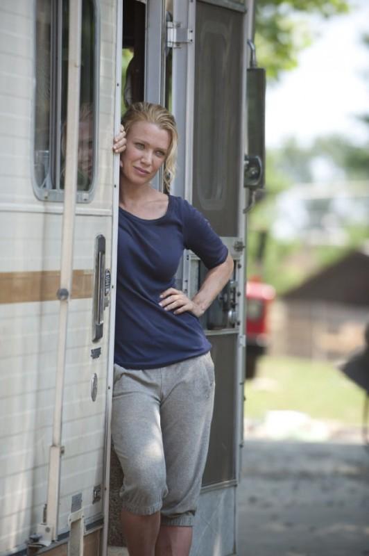 Laurie Holden è Andrea nell'episodio La strada da percorrere, della seconda stagione di The Walking Dead