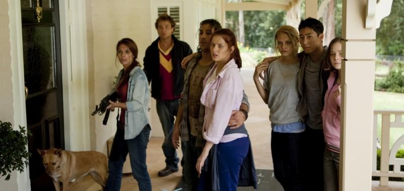 The Tomorrow Series: il domani che verrà, una scena di gruppo tratta dal film