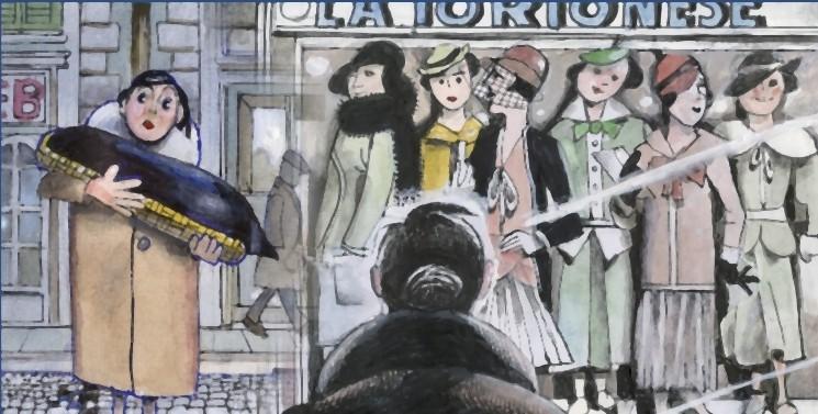 Tormenti - Film disegnato, un'immagine tratta dal film
