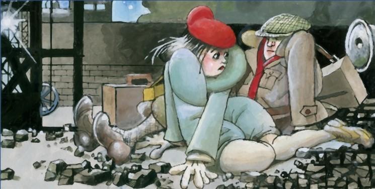 Tormenti - Film disegnato, una scena del film di Filiberto Scarpelli