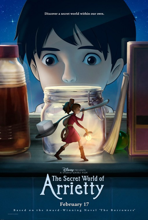 Arrietty: poster USA