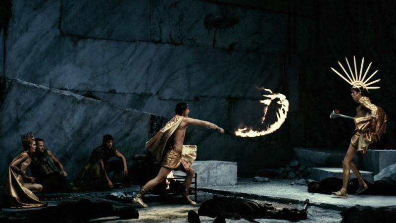 Immortals 3D: una scena d'azione tratta dal film