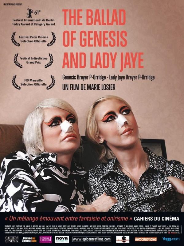 Nuoca locandina di The Ballad of Genesis and Lady Jaye