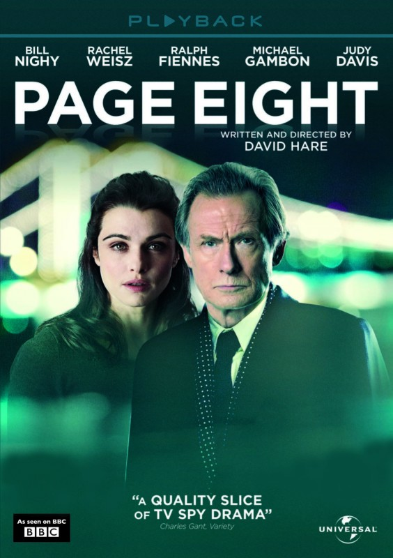 Page Eight, il poster del film