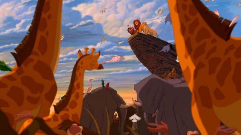Pumbaa,Timon, Simba e Nala in una bellissima immagine de Il re leone 3D