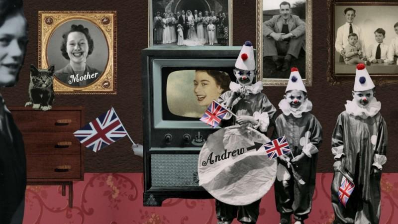 The british guide to showing off, un altro bizzarro collage tratto dal documentario