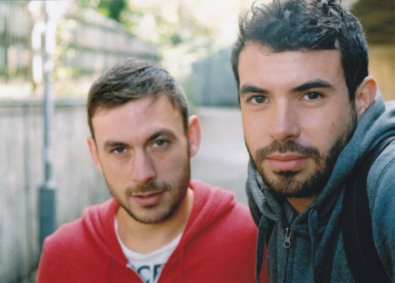 Tom Cullen e Chris New, i due protagonisti del film Weekend