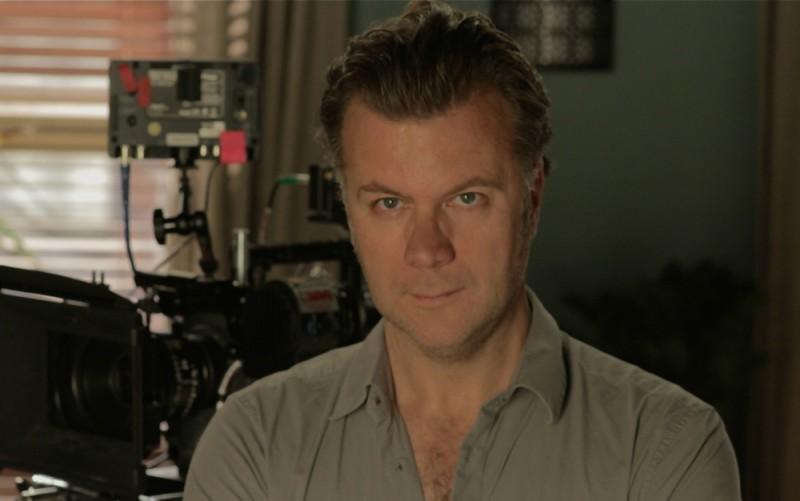 Un'immagine di Ian Fitzgibbon, regista del film Death of a Superhero