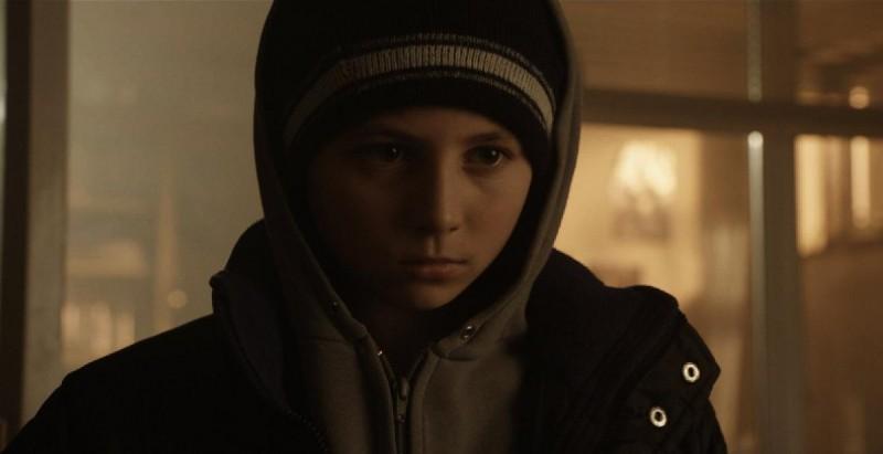 Wild Bill: il giovane Sammy Williams in una scena del film