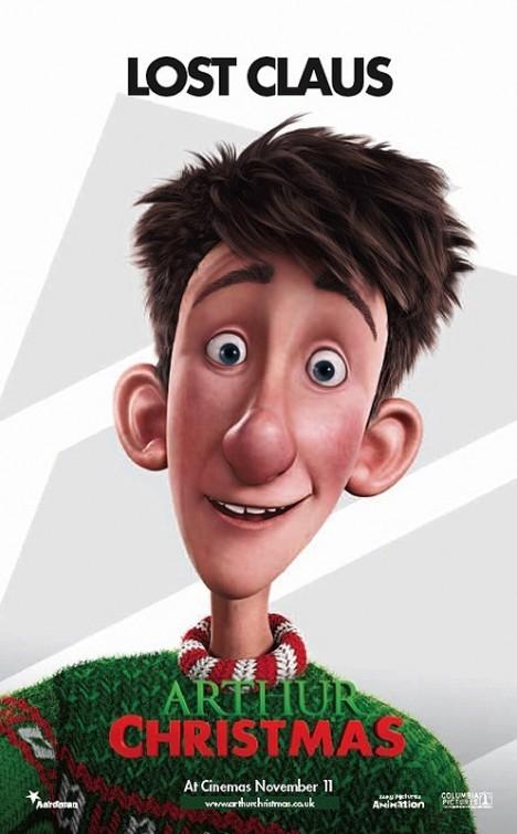 Arthur Christmas: Character Poster 1
