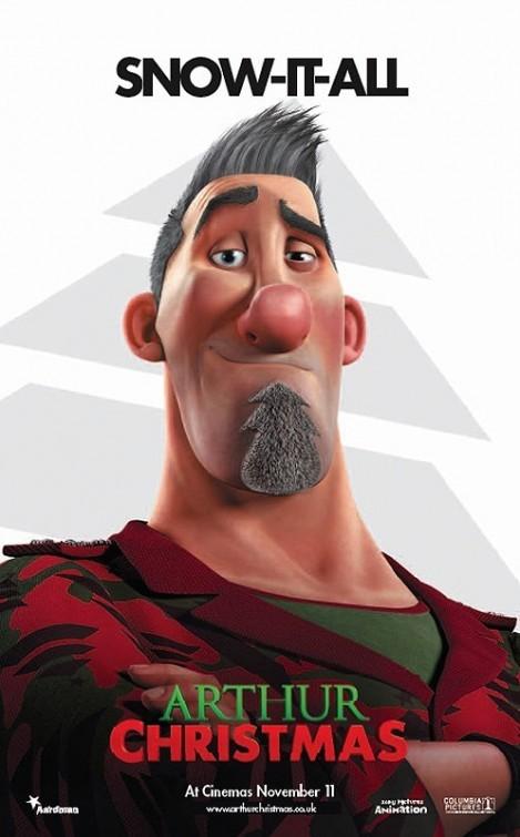 Arthur Christmas: Character Poster 3