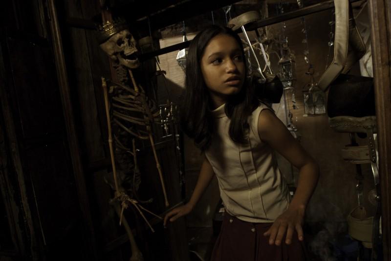En el nombre de la hija, la piccola Dianneris Díaz in un'immagine del film