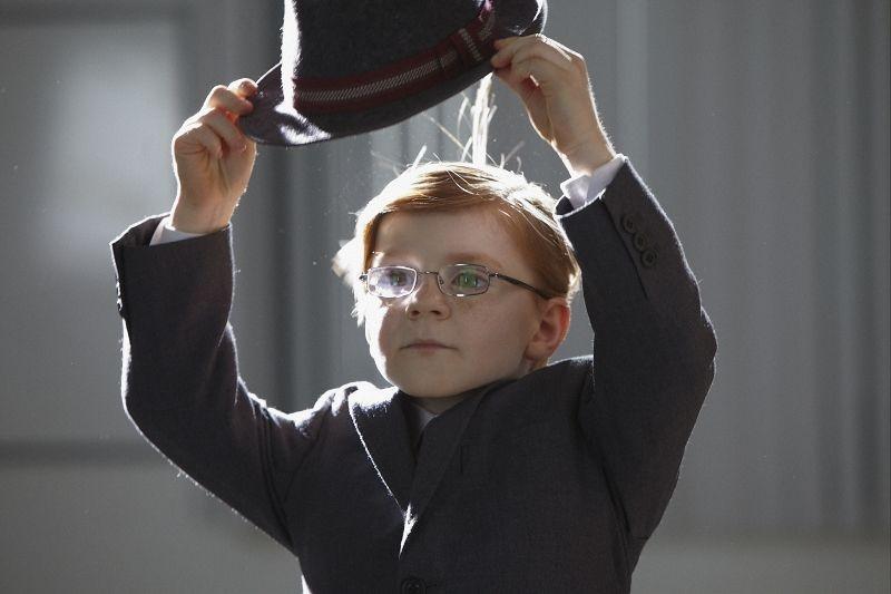 Il piccolo Maurice Cole protagonista del film Foster