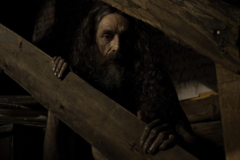 Pancho Aguirre in una scena de En el nombre de la hija