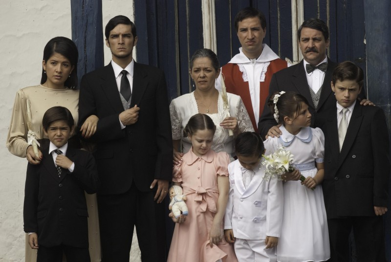 Una foto di famiglia tratta dal dramma En el nombre de la hija