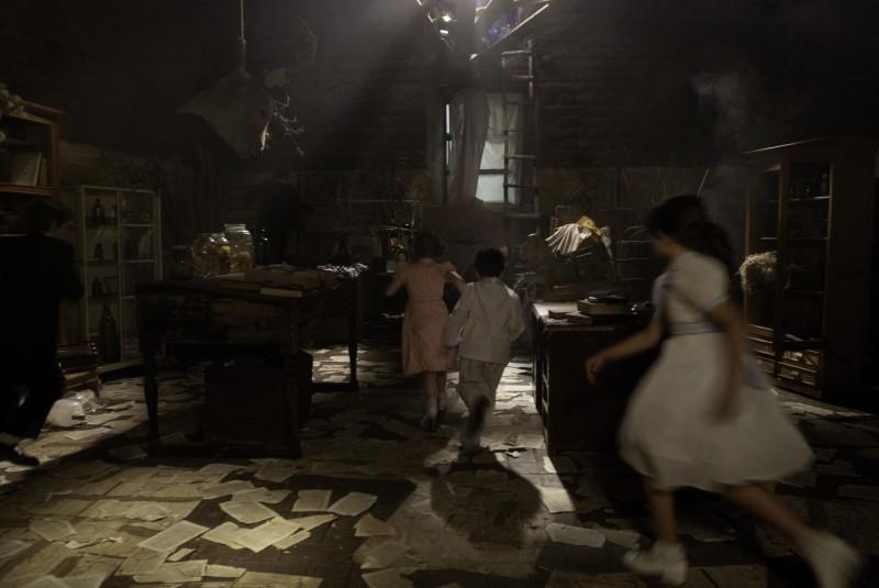 Una suggestiva scena tratta dal dramma En el nombre de la hija