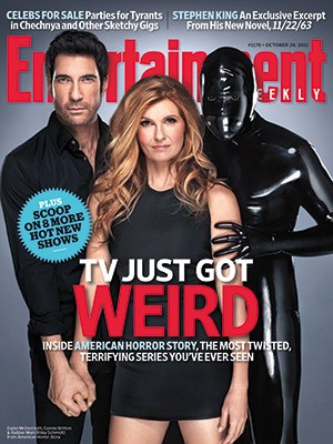 Copertina di Entertainment Weekly dedicata a American Horror Story