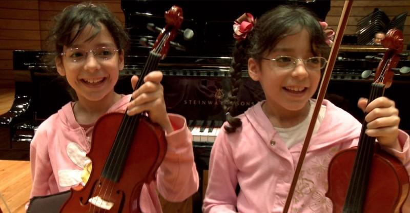Dudamel: Let the Children Play, un'immagine tratta dal documentario di Alberto Arvelo