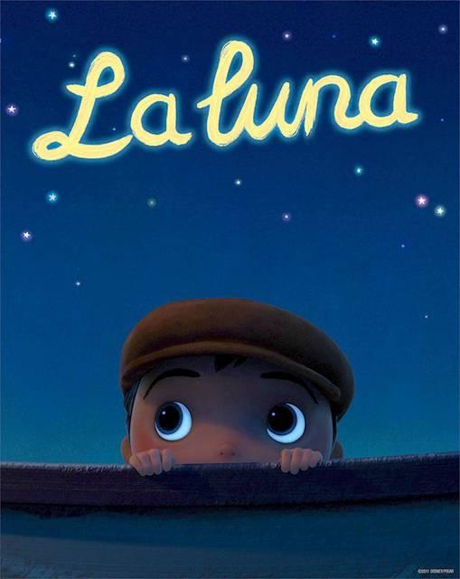 La luna: locandina del cortometraggio Pixar