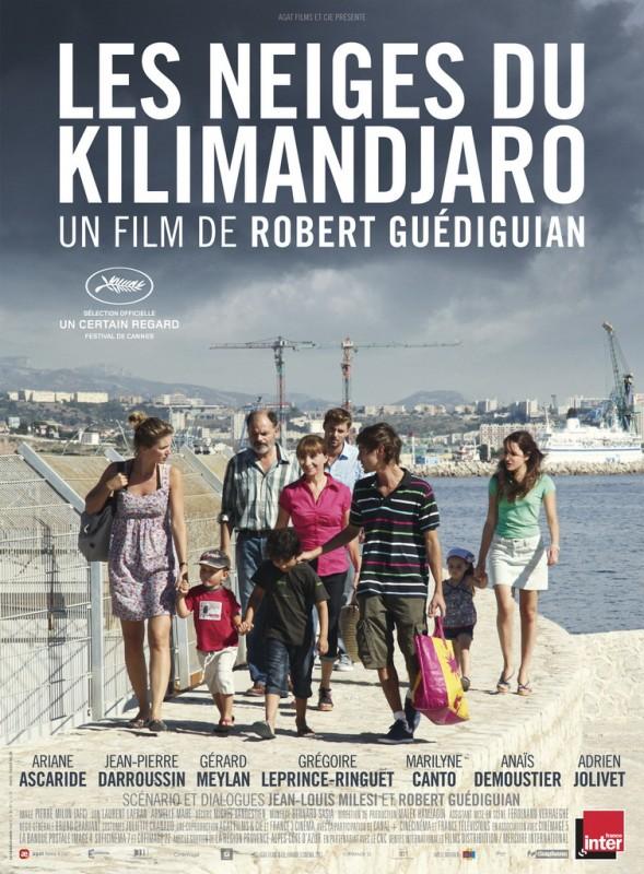Le nevi del Kilimangiaro: la locandina francese del film