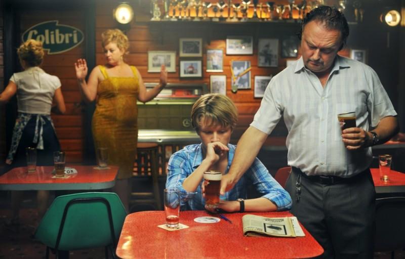 Noordzee, Texas: Eva Van der Gucht, Jelle Florizoone e Luk Wyns in una scena del film