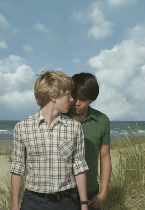 Noordzee, Texas: Jelle Florizoone e Mathias Vergels protagonisti del film in una bella immagine