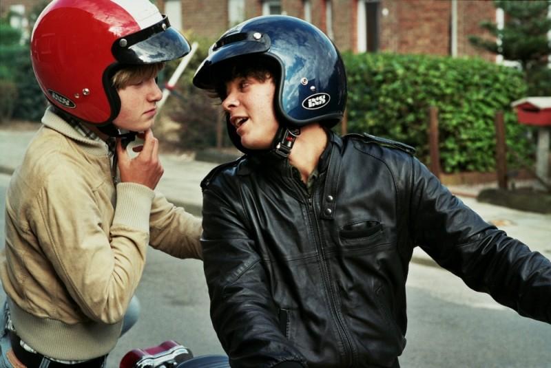 Noordzee, Texas: Jelle Florizoone insieme a Mathias Vergels in una scena del film