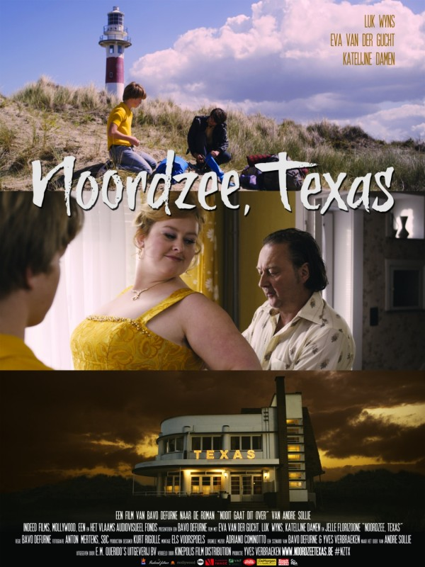 Noordzee, Texas: la locandina internazionale del film