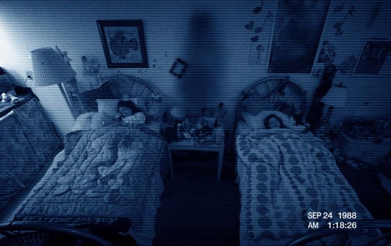 Paranormal Activity 3: una scena tratta dal film che ritrae la cameretta delle due sorelline protagoniste