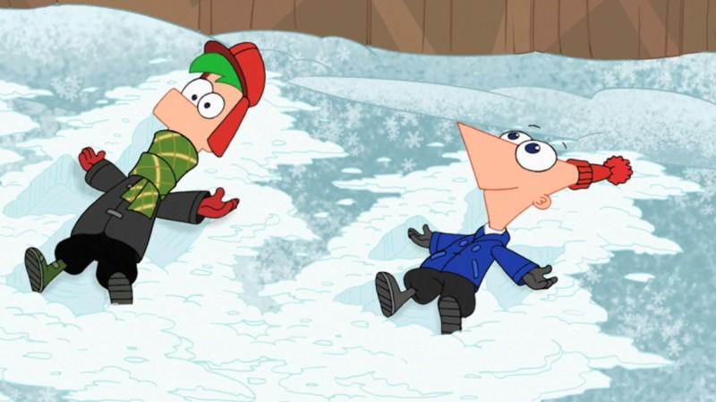 Phineas e Ferb: i protagonisti in un'immagine della serie