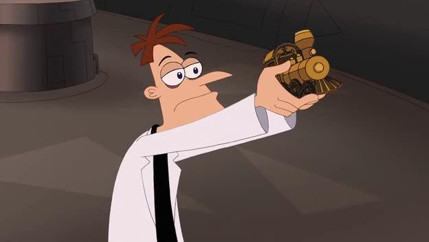 Phineas e Ferb The Movie - Nella seconda dimensione:una scena del film