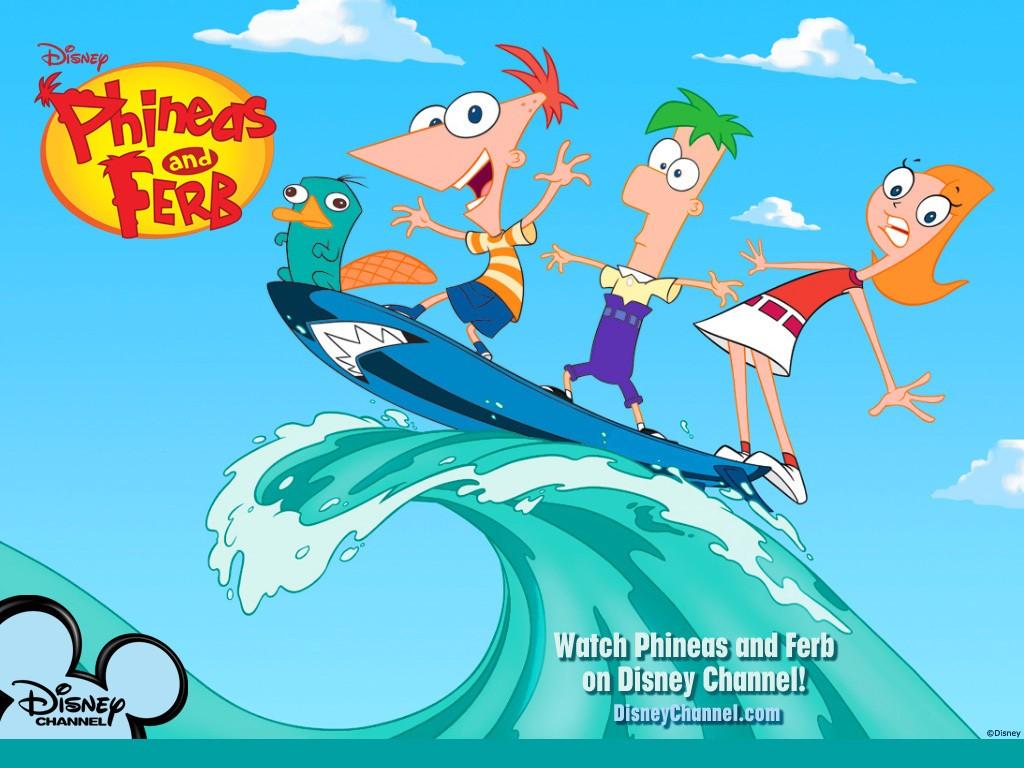 Phineas e Ferb: un wallpaper della serie