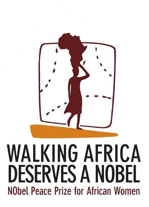 African Women: in viaggio per il Nobel della pace, la locandina del film