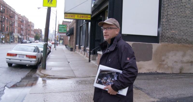 Alex Gibney, regista di Catching Hell, documentario sul tifoso di baseball Steve Bartman