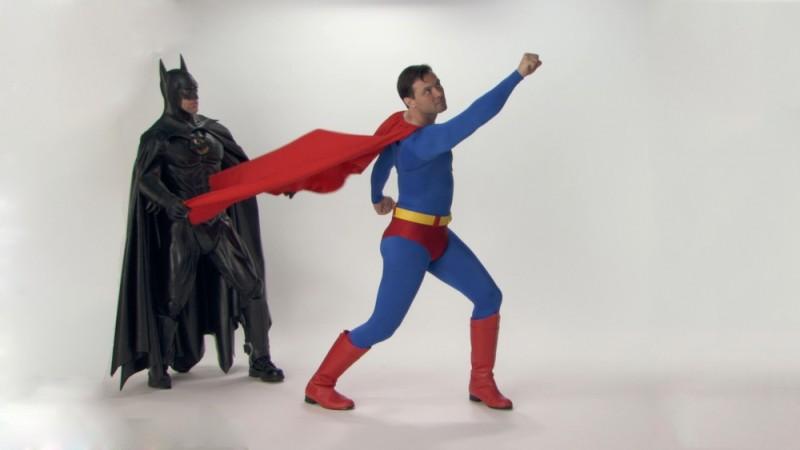 Comic-Con Episode Four: Batman insieme a Superman in una scena del documentario sul Comic-Con di San Diego