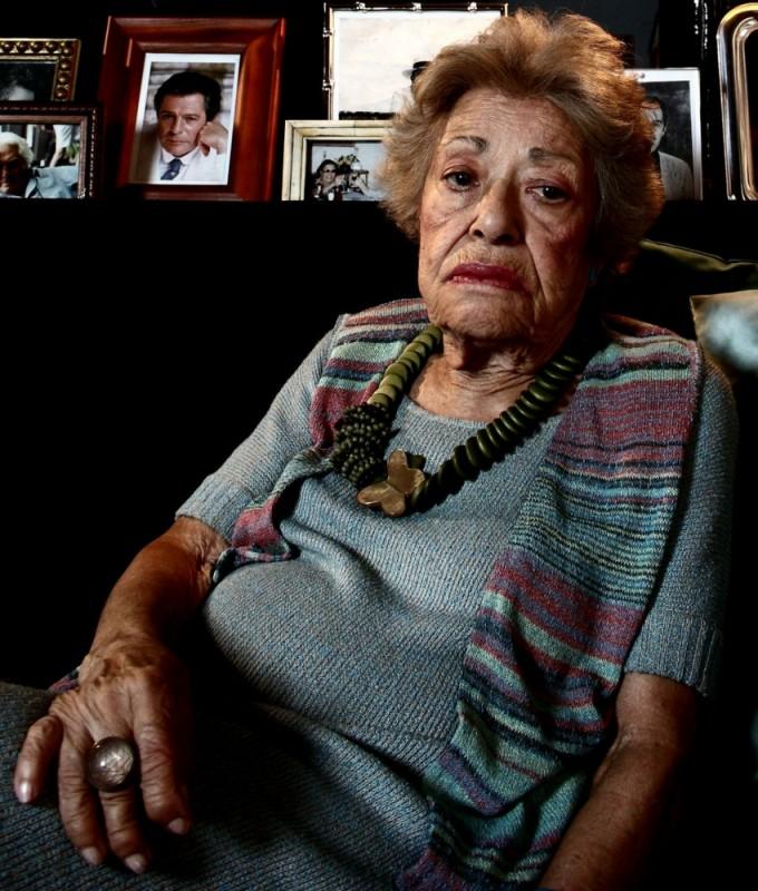 Giovanna Cau in un'immagine del film Diversamente Giovane