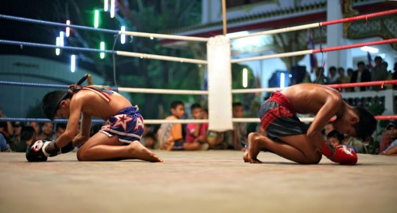 Grazia e furore, un'immagine del documentario sui due fratelli leccesi campioni di Muay Thai