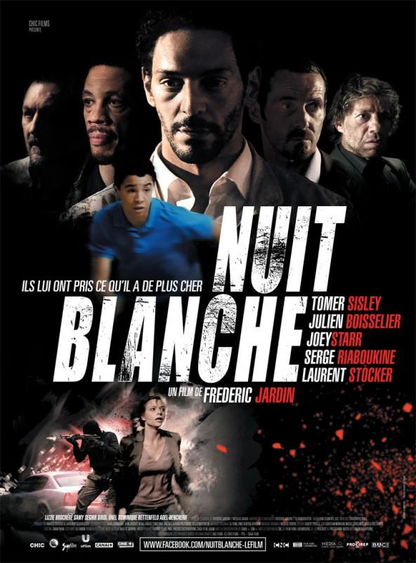 Nuit Blanche, la locandina originale del film