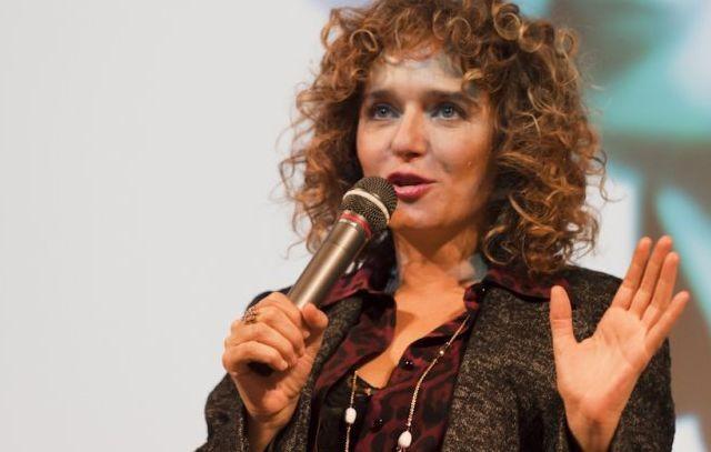Valeria Golino presenta Un Baiser papillon a France Odeon