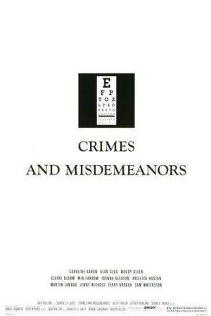 Crimini e misfatti: la locandina originale