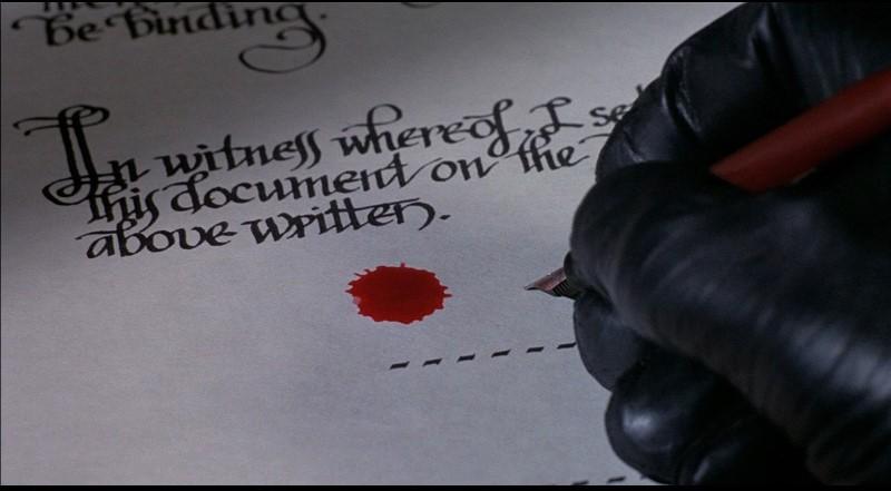 Il fantasma del palcoscenico di Brian De Palma: una scena del film