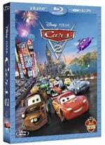 La copertina di Cars 2 (blu-ray)
