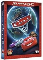 La copertina di Cars 2 in 3D (blu-ray)