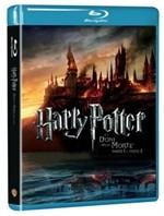 La copertina di Harry Potter e i doni della morte - parte 1 e 2 (blu-ray)