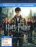 La copertina di Harry Potter e i doni della morte - parte 2 (blu-ray)