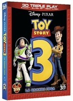 La copertina di Toy Story 3 - La grande fuga 3D (blu-ray)