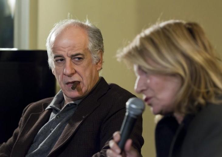 Toni Servillo e Nicole Garcia a Firenze per presentare il thriller Un balcon sur la mer