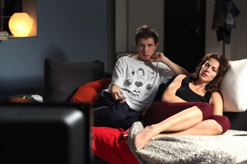 Claudia Gerini e Enrico Bosco sono zia e nipote in un scena de Il mio domani