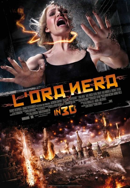 L'ora nera: la locandina italiana del film