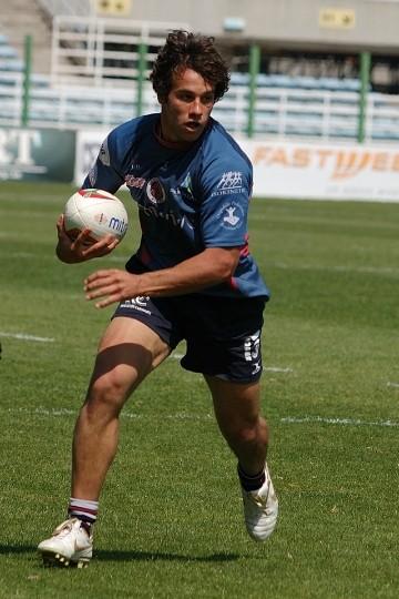 Rudolf Mernone durante una partita